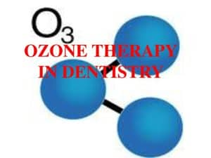 ozone dentist therapy